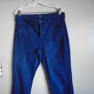 NYxD Women's dark blue skinny jeans.